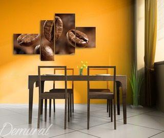 composicion de cafe cuadros para el comedor cuadros demural