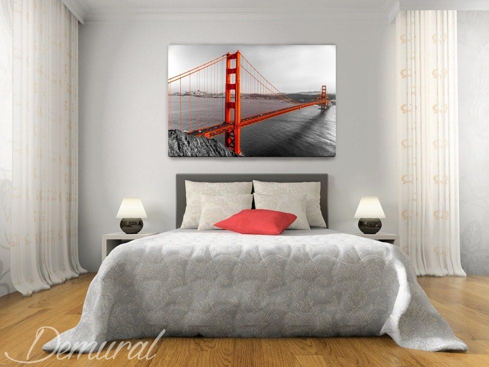 San francisco privado cuadros para dormitorio cuadros for Cuadros modernos para habitacion