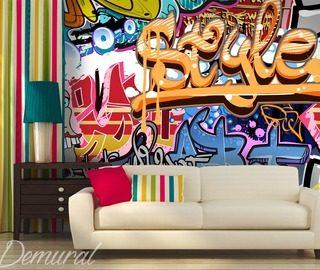 Casa a orillas del t mesis fotomurales puentes for Club joven mural
