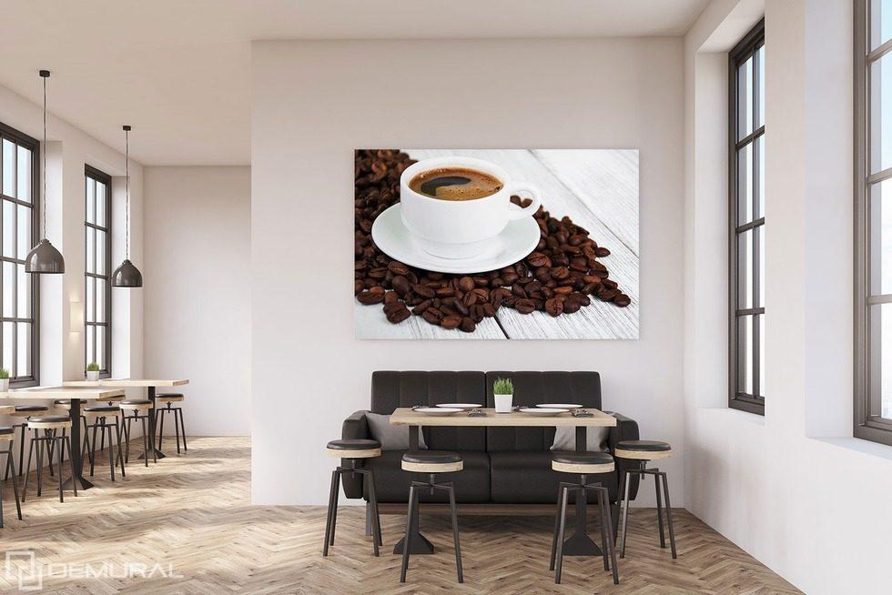 La belleza de mezclas de café - Cuadros para el comedor - Cuadros ...